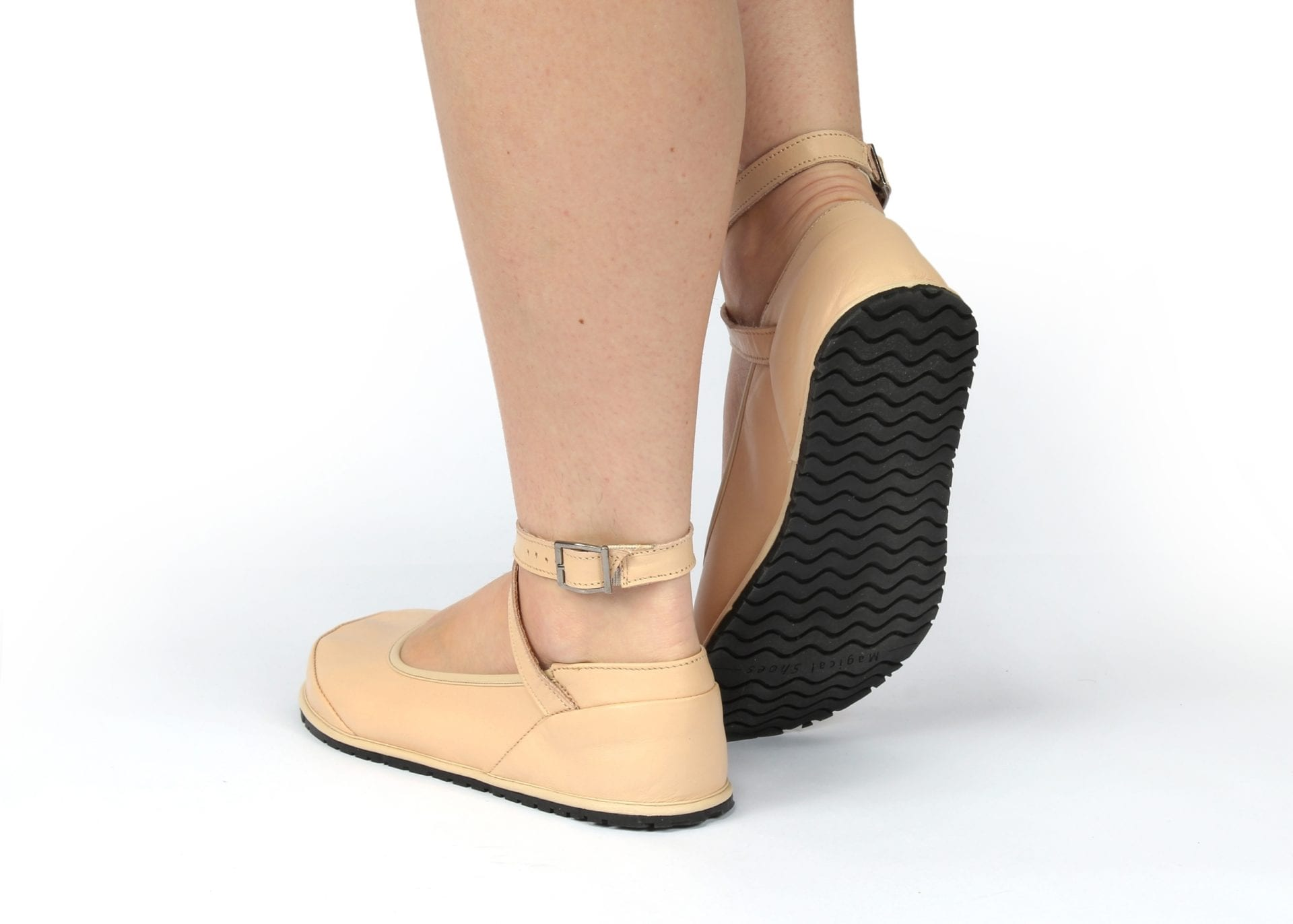 Magical Shoes BAREFOOT SHOES BALERINA ANNA BEIGE picture 6