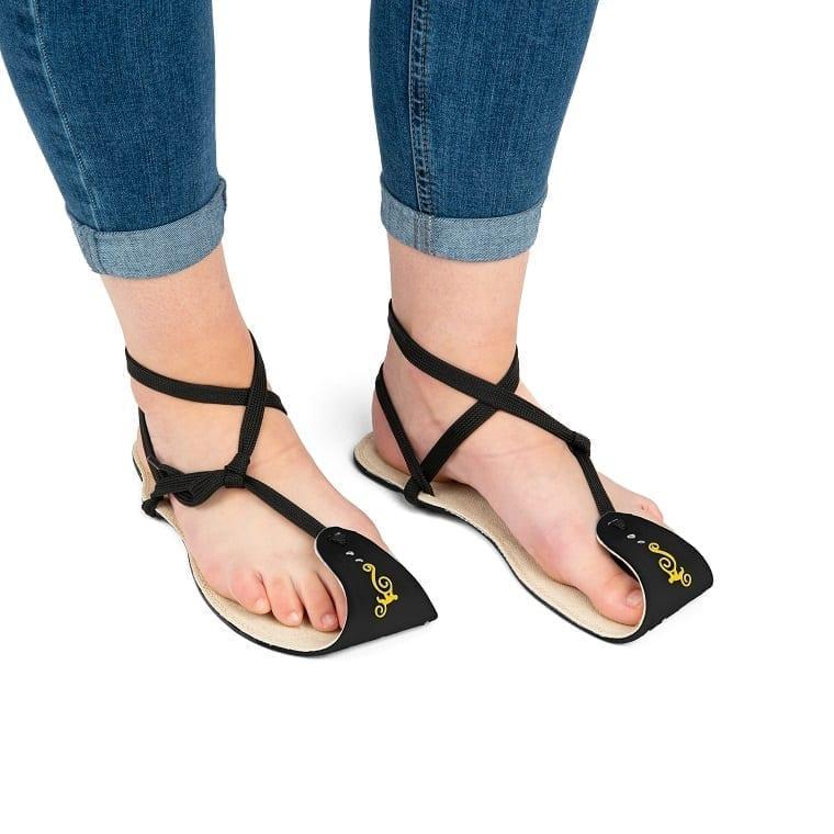 Magical Shoes MINIMALIST SANDALS CABALLO BLANCO HEMP BLACK picture 6