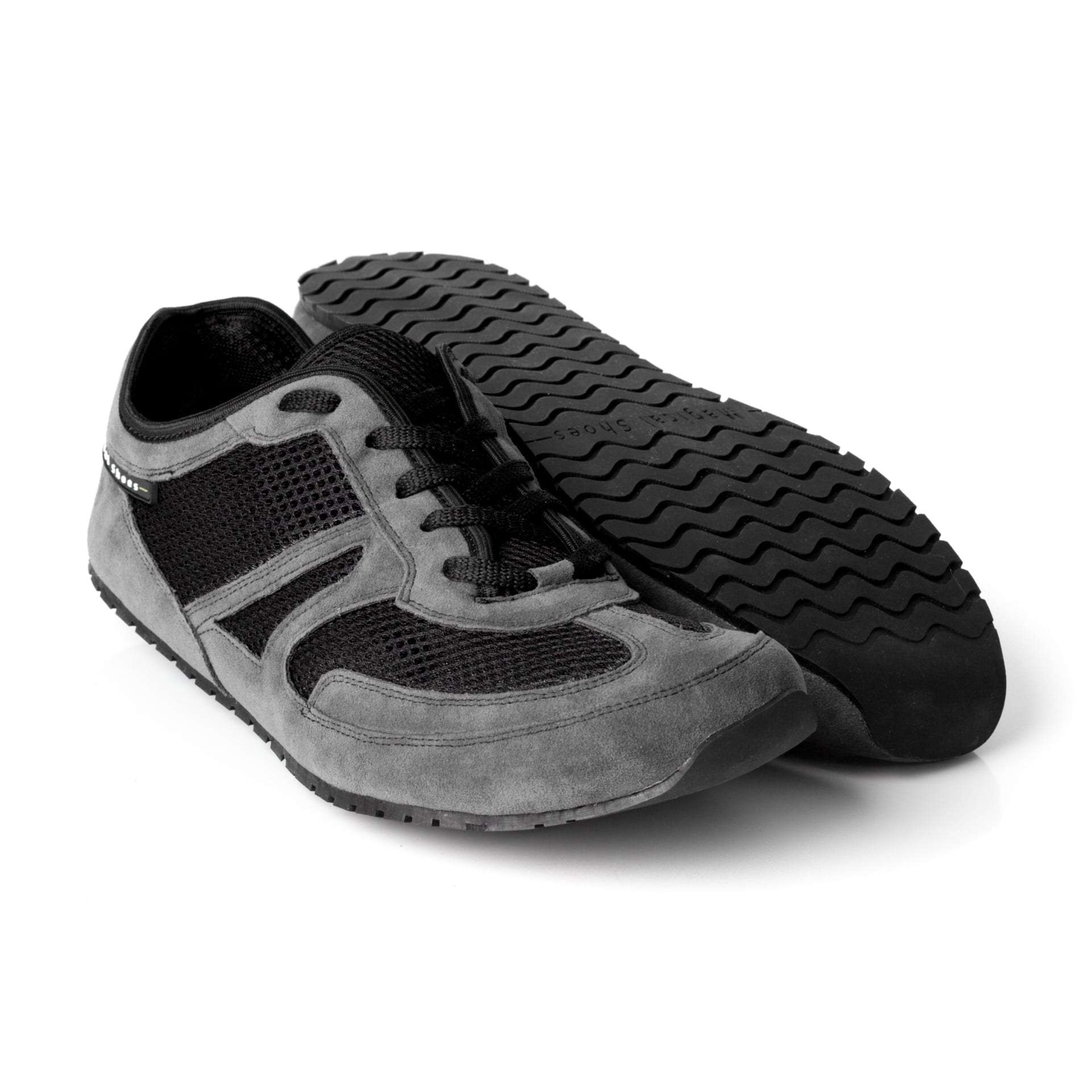 Magical Shoes BAREFOOT SHOES EXPLORER VEGAN GRAY KIDS picture 1