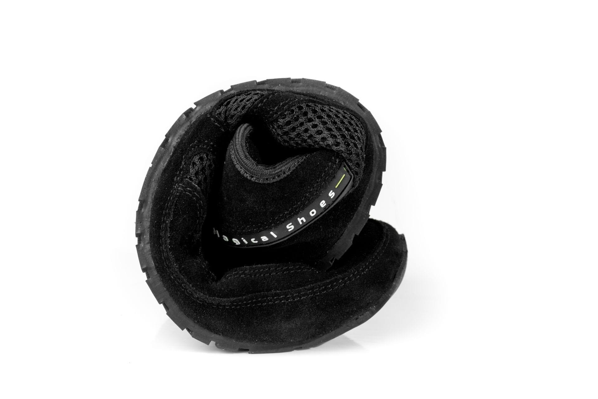 Magical Shoes BAREFOOT SHOES EXPLORER CLASSIC BLACK KIDS picture 3