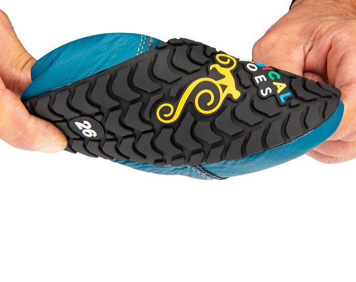 Magical Shoes WINTER BAREFOOT KIDS BOOTS – ZIUZIU BARK BROWN picture 5