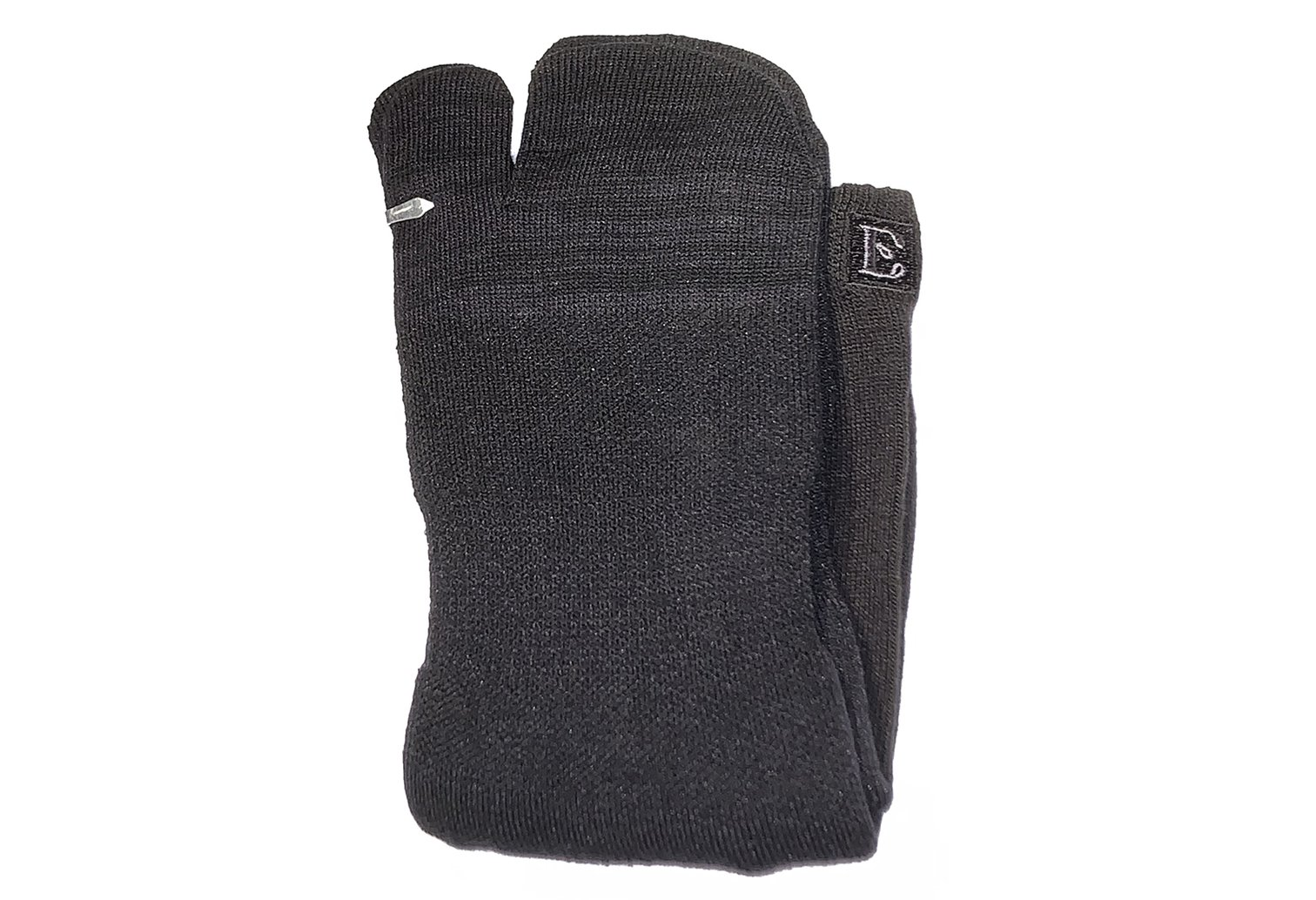 Crew Wool Tabi Socks - Black Picture 8